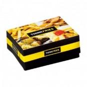 6) Κουτιά Ψητοπωλείου, Club Sandwich, Κρέπας  Μεταλιζέ (0)