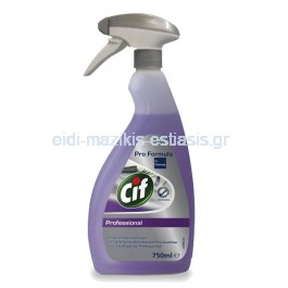 Cif Professional Καθαριστικό & Aπολιπαντικό Κουζίνας 750ml