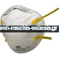 3M - Μάσκα Προστασίας Από Επικίνδυνες Σκόνες Και Σταγονίδια (8710Ε)Τεμ.