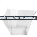 Πλαστικό Μπωλ Έλικας 220cc Διάφανο