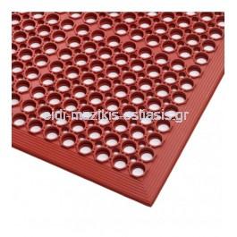 Ταπέτο Νιτριλίου Ειδικών Εφαρμογών Κόκκινο 0.91*1.52 12.7mm