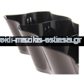 Πλαστικό Μπωλ Έλικας 220cc Διάφανο 500(Τεμάχια/Κιβώτιο)